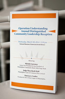 Operation Understanding - Annual Distinguished Community Leadership Reception - 2014